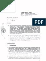 Investigación - vacunas chinas - Martín Vizcarra - FN