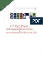 TP Propriétés Des Matériaux Filière Ingénieur