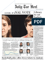 The Daily Tar Heel for February 25, 2011