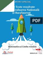 Evaluarea Nationala Si Bacalaureat
