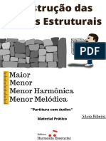 Construção das Escalas Estruturais - Método Prático - Silvio Ribeiro
