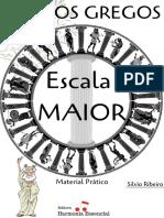 Modos da Escala Maior - Material Prático - Silvio Ribeiro