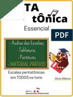 Pentatônica Essencial - Material Prático - Silvio Ribeiro