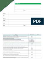 CHECK LIST ISO 9001 2015