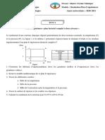 TP N°1 « plan factoriel complet à deux niveaux »