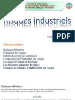 cours risques industriels