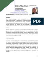 Integración estratégica para la dirección y gestión de procesos de paradas de plantas