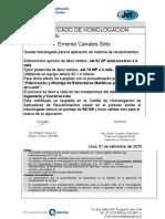 CERTIFICADO DE HOMOLOGACION-INMOBIDEAS-CANALES