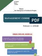 Management Commercial Master MEGP