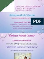 Business Model Canvas Un Emprendimiento Sencillo