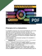 Principios de la criminalística