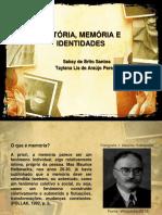 HISTÓRIA, MEMÓRIA E IDENTIDADES 13