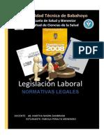Normativas legales