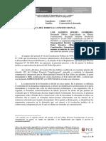 Contestación de demanda Exp. 3-2020-CC-TC