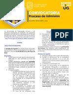 Universidad de Guanajuato Admisión Licenciatura 2021