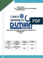 10. PROTOCOLO DE PREPARACION Y ADMINISTRACION DE INFUSIONES ENDOVENOSAS