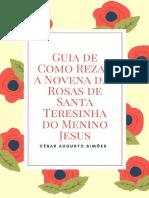 Guia de Como Rezar a Novena Das - Cesar Augusto Simoes