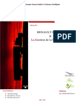 Gestion Du Projet Renault