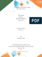 Ficha de lectura crítica Fase 1 Administracion Publica