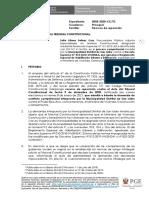 Recurso de Reposición Exp. 3-2020-CC-TC