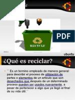Diapositiva de Remus(trabajo del reciclaje)