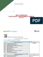 MALLA DE CAPACITACIÓN Y ADIESTRAMIENTO 2019