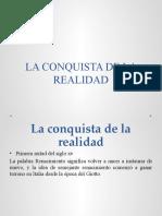 LA CONQUISTA DE LA REALIDAD equipo historia del arte cap. 12
