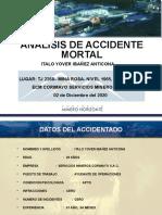 Presentación de Accidente Mortal en Mineria