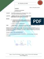 CARTA WILDER 031-2020 APROB ANALI covid CHICCHICANCHA