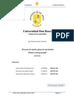 Proyecto de catedra (Avance 1) - P.grupal