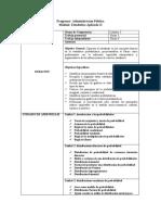 Módulo -  Estadistica Aplicada II