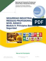 Manual de Seguridad Industrial y Riesgos Profesionales nivel básico módulo II_2016