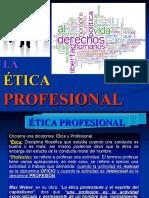 PPT SEM. 11.  Ética Profesional