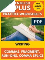 Writing   Commas Sentence-Fragments-Run-Ons-Comma Splice