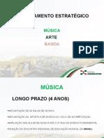 PLANEJAMENTO ESTRATÉGICO MÚSICA, ARTE E BANDA