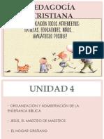 UNIDAD 4 PEDAGOGIA CLASE 1KEPC 2019