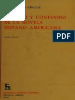 Proceso y contenido de la novela hispano-americana