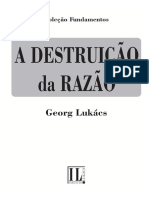 A destruição da razão