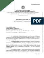 Recomendação do Ministério Público para suspender repasse das loterias ao COB