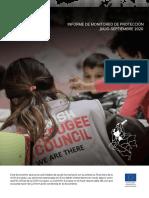 Informe monitoreo de protección DRC Colombia jul-sept 2020