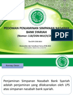 Presentasi Fatwa 118 - Pedoman Penjaminan Simpanan Nasabah Bank Syariah
