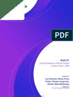 Trilha Estratégica P_ Receita Federal (Auditor Fiscal) - 2020 AULA 01