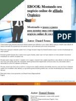 EBOOK_ Montando seu negócio online de afiliado Orgânico