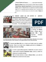 Gobierno de Juan Manuel de Rosas, Batalla de Caseros