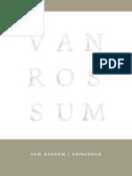 Van Rossum Catalogue 2019 601c1b40ee99d
