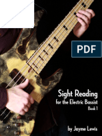 Sight Reading for the Electric Basists Book 1 - Jayme Lewis