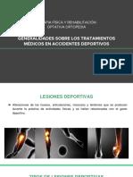 TRATAMIENTOS MEDICOS EN ACCIDENTES DEPORTIVOS