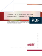 Solving the System-Level Thermal Mangement Challenges of LEDs