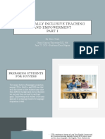 updated 15 slides culturally inclusive teaching and empowerment esl 546 ester clark