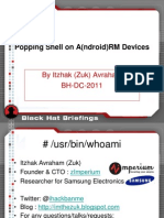 BlackHat_DC_2011_Avraham-Popping_Android_Devices-Slides
